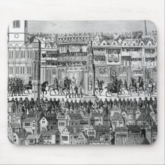 Part of the Coronation Procession Mousepads