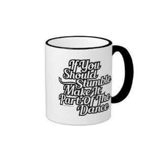 Part Of The Dance Ringer Mug