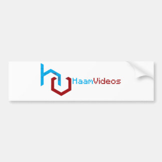 Part of the HaamVideos store collection Bumper Sticker
