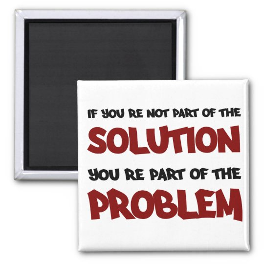 Part of the Solution magnet