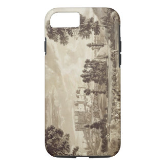 Part of the Town and Castle of Ludlow in Shropshir iPhone 8/7 Case