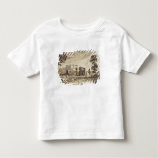 Part of the Town and Castle of Ludlow in Shropshir Toddler T-Shirt