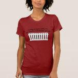 Part Shiba Inu Part Fence-Jumper Tee Shirts