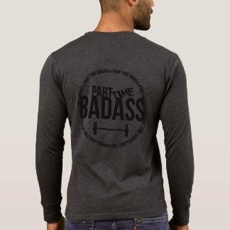 PART TIME BADASS- men's henley T-Shirt