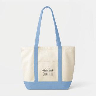 Part Westie Part Fence-Jumper Canvas Bags