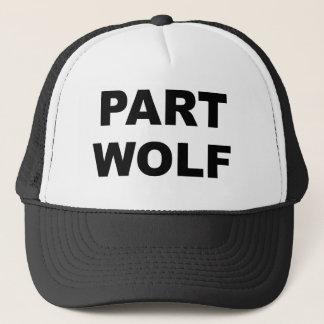 Part Wolf Trucker Hat