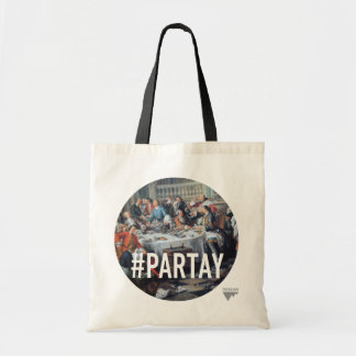 PARTAY Up In Here #Hashtag - Trendium Art Captions Canvas Bag