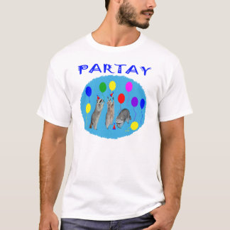 Partay With Raccoons T-Shirt