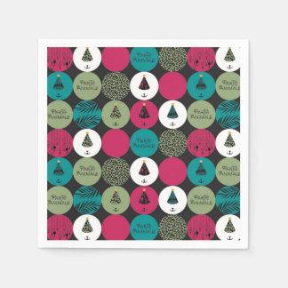 ParTé Animals Circles napkins Disposable Serviette