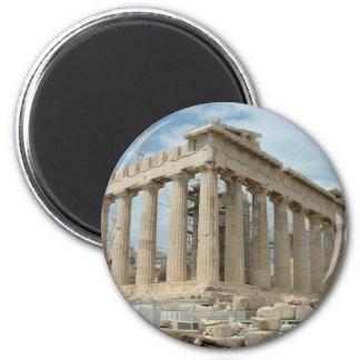 Parthenon 6 Cm Round Magnet