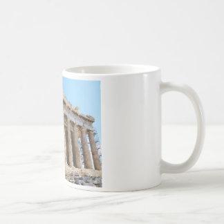 Parthenon, Acropolis Athens Basic White Mug