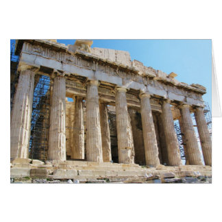 Parthenon, Acropolis Athens Card
