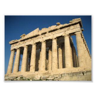 Parthenon Acropolis in Athens Photo
