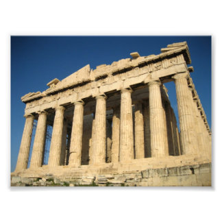 Parthenon Acropolis in Athens Photo Print