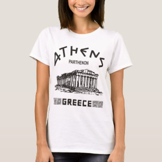 Parthenon - Athens - Greek (black) T-Shirt