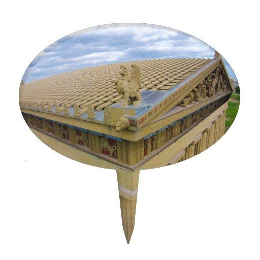 Parthenon Cake Topper