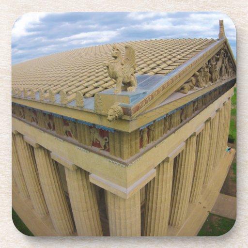 Parthenon Beverage Coaster
