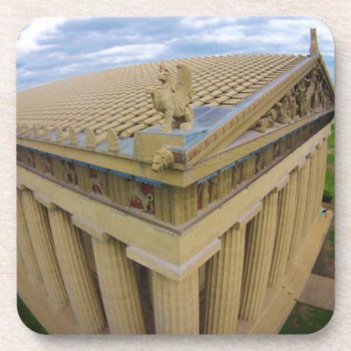 Parthenon Drink Coasters