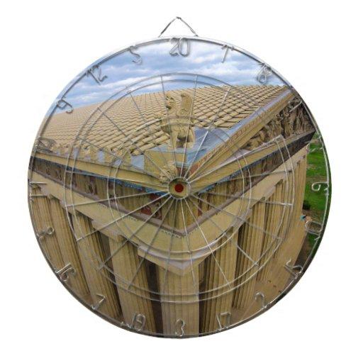 Parthenon Dartboard