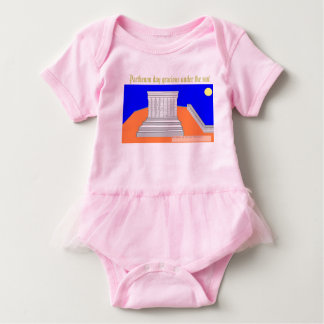 Parthenon day! baby bodysuit