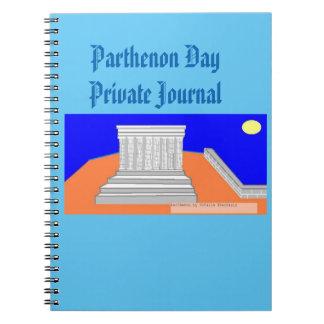 Parthenon day! note book