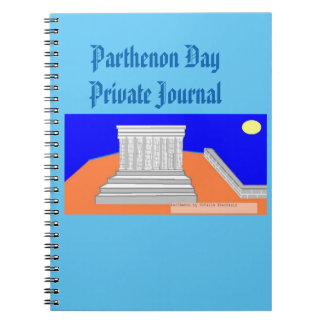 Parthenon day! notebook