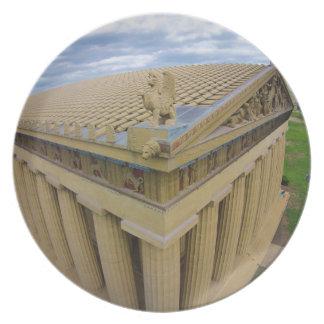 Parthenon Dinner Plate
