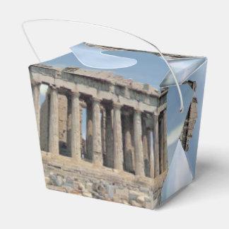 Parthenon Wedding Favour Boxes