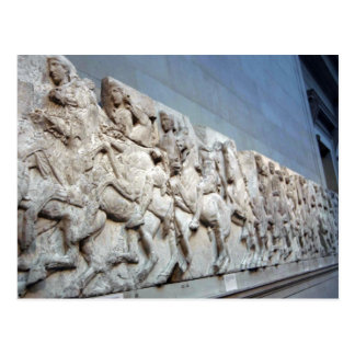 Parthenon Frieze - The British Museum Postcard