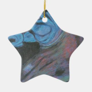 parthenon horse head christmas ornament
