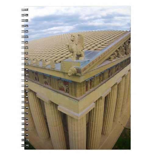 Parthenon Spiral Note Books