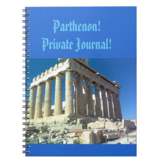 Parthenon! Notebook