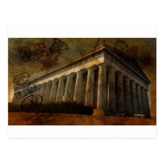 Parthenon Postcard