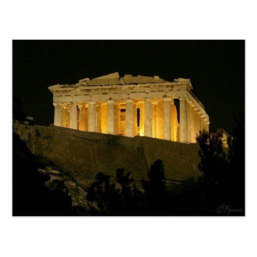 Parthenon Post Card