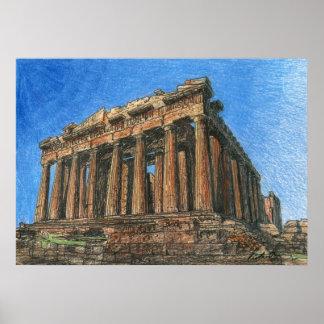 Parthenon Posters