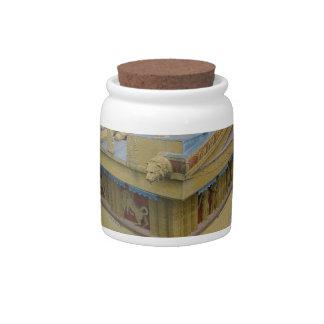 Parthenon Candy Jars
