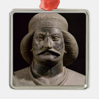 Parthian warrior, from Shami, 01st century AD Christmas Ornament