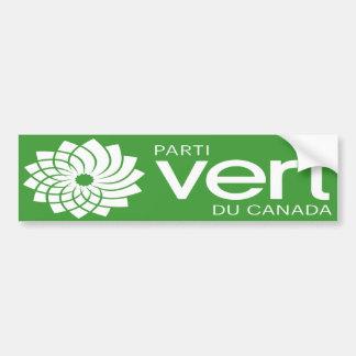 Parti Vert du Canada Logo Bumper Sticker