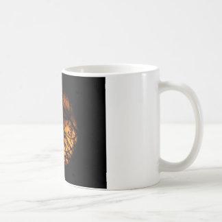 Partial Lunar Eclipse Silhouette Basic White Mug