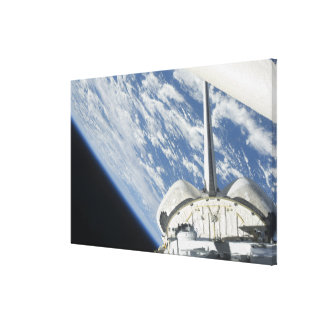 Partial view of Space Shuttle Endeavour Canvas Print
