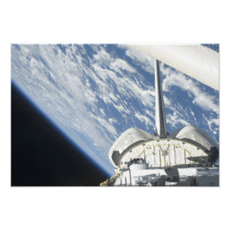 Partial view of Space Shuttle Endeavour Photo Print