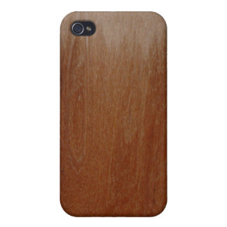 Partially Varnished Wood Plank iPhone 4/4S Case