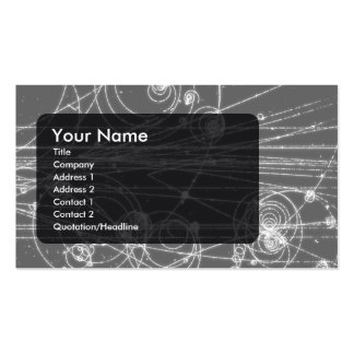 Particles business card