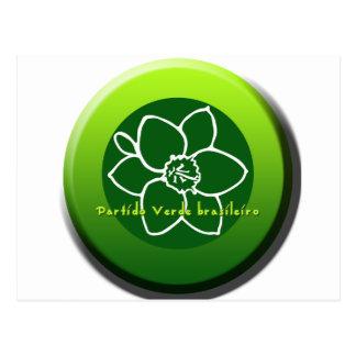 Partido Verde brasileiro Postcard