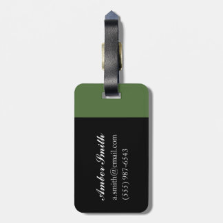 Parties diverses, 1940 luggage tag