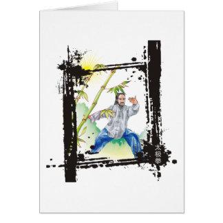 Parting Horse's Mane - Tai Chi Card