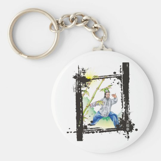 Parting Horse's Mane - Tai Chi Key Ring
