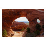 Partition Arch at Arches National Park Poster
