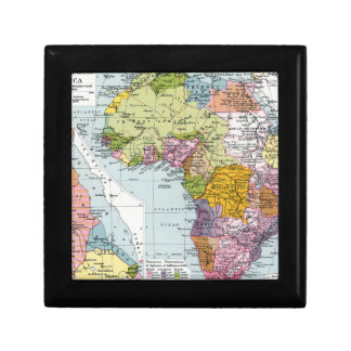 PARTITIONED AFRICA, 1914 GIFT BOX
