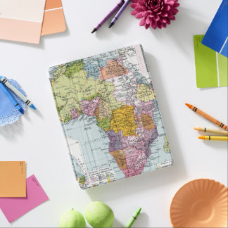 PARTITIONED AFRICA, 1914 iPad COVER